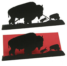 Buffalo Bison Calf Letter Holder