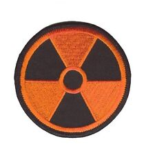RADIATION PATCH ORANGE ON BLACK