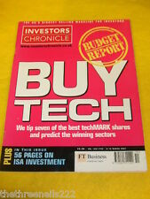 INVESTORS CHRONICLE - BUY TECH - MARCH 9 2001