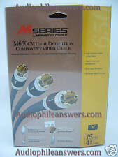 Monster Cable M650cv 16' Component Video Cable