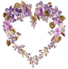 VinTaGe ImaGe LaVenDeR LiLaC FloRaL HeaRt WreAths ShAbBy WaTerSliDe DeCaLs