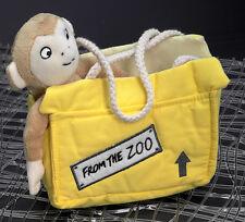 Aurora Dear Zoo Plüschtier (Rod Campbell) Affe im Käfig 20,5 cm