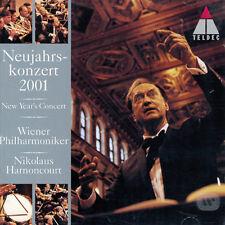 Nikolaus Harnoncourt - Neujahrskonzert 2001 - Wiener Philharmoniker (2CD)