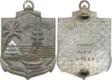 Régiment d'Infanterie de Marine du PACIFIQUE, marquage central Drago 1955(5744)