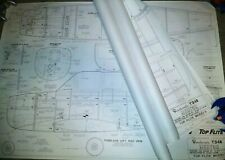 ** TOP FLITE ** T-34B Mentor Giant Scale Model Airplane Plans * 80 Inch Wing NEW