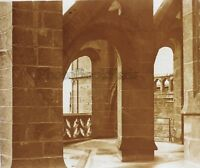 Mont st Michel Francia Placca N8 Stereo Vintage Positivo 6x13cm