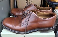 To Boot New York Adam Derrick Cognac Brown Leather Shoes Mens 10.5 US made ITALY