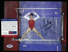 JORDYN WIEBER autographed 8x10 photograph PSA Authenticated Gold Medalist