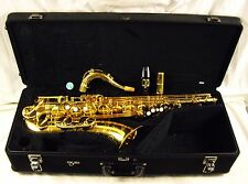 YAMAHA YTS-62-II PROFESSIONAL Bb TENOR SAXOPHONE GOLD LACQUER EXCELLENT