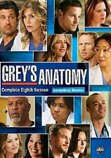 Grey's Anatomy The Complete Eighth Season 6 Discs DVD