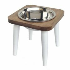 Southern Maple Pet Diner Elevated 1-Bowl Raised Dog Feeder