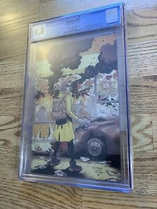 Crossover #1 Ottley Virgin Variant CGC 9.8 Ltd 500 Walking Dead Homage