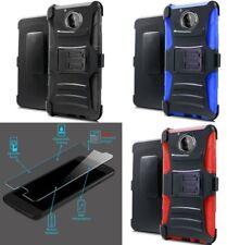 [NP ARMOR] GLASS Screen Guard + Holster Case For Motorola Moto E4 /XT1766 XT1762