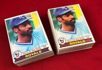 Lot of 100 Cards 1979 Topps Willie Wilson Rookie Baseball Card # 409  RG1