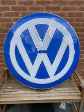 More details for vw volkswagen main dealer sign