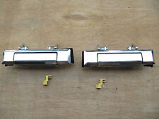 FRONT OUTSIDE DOOR HANDLE for TOYOTA HILUX PICKUP 4RUNNER 1984-88 A PAIR ZINC!