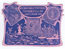 (I.B-CKK) Netherlands Cinderella : Stamp Exhibition (Amsterdam 1909)