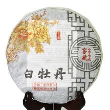 351g 2009 Year Organic Supreme Aged Bai Mu Dan Peony Cake FuDing White Tea Cake