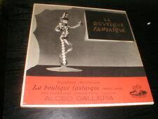Alceo Galliera 10-inch Lp Record La Boutique Fantasque UK Angel Rossini-Respighi