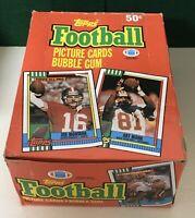 1990 Topps NFL Football Wax Packs Cards Box 36 Packs FRESH