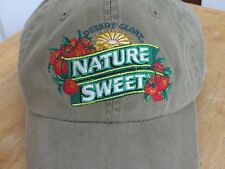 Nature Sweet Tomato Green Gardener Cap Hat Adjustable Leather Strap 2 Available