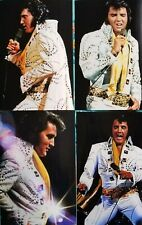 Elvis Presley 6 Photo Set Live in Chicago, June 1972 & Free Cd! New!