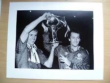Org Press Photo- GRAHAME ROBERTS & TREVOR FRANCIS at 1987 SCOTTISH LEG CUP FINAL