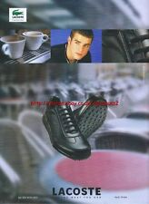 "Lacoste Shoes ""Become What You Are"" 2001 Magazine Advert #3952"