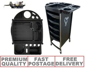 WELLA Salon Hair Dresser Barber Beauty Storage Trolley Drawers Colour Movable UK