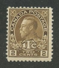 Canada 1916 Admiral War Tax 2c + 1c yellow brown Die II #MR4i MNH