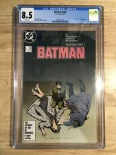 Batman #404 2/1987 CGC Grade 8.5 (VF+) Year One Begins - Frank MIler
