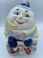 VTG BICO CHINA Humpty Dumpty on the Wall Ceramic Cookie Jar