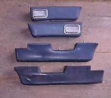 1967 AMC Marlin Interior Armrests Set of Four Blue Handles