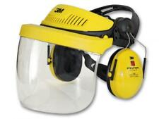 3M G500 COMBINATION HEADGEAR PROTECTION VISOR / EAR DEFENDERS Headset