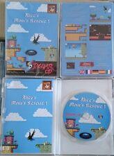 Alice's Mom's Rescue platformer game Atari Jaguar CD & PC homebrew NEW & SEALED