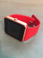 New Aosmart Bluetooth Touch Screen Smart Wrist Watch Phone with Camera - Red