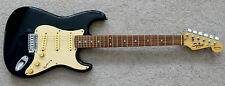 Vintage FENDER Squier Bullet STRATOCASTER Black Body STRAT Electric Guitar