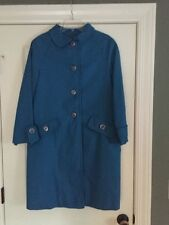 Vintage Gidding Jenny Trench Coat Jacket Women Size 12 Mint Condition!