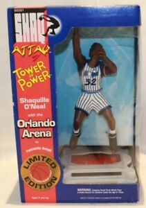 1994 Kenner Shaquille Oneal Shaq Attaq Orlando Magic Arena Tower Of Power Figure