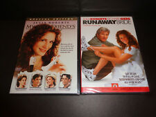 MY BEST FRIEND'S WEDDING-Spec Edition & RUNAWAY BRIDE-2 DVDs-Julia Roberts, Gere