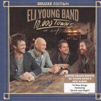 Eli Young Band - 10,000 Towns Deluxe Edition CD Inc 3 Bonus Tracks NEW/SEALED