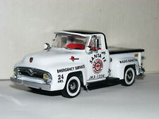 Matchbox Collectibles YRS06-M 1955 Ford F100 Pickup Red Crown Emergency 1/43