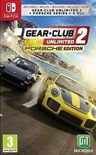 Gear Club Unlimited 2 - Porsche Edition   Nintendo Switch BRAND NEW SEALED