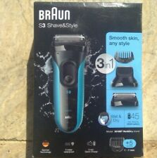 🌟🎈 BRAUN Series 3 S3 3010BT Shave & Style 3-in-1 Electric Wet & Dry Shaver 🌟