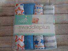 Aden ANAIS 4 Pack BABY Swaddle coperte, NUOVO CON CONFEZIONE