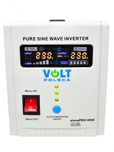 Spannungswandler Wechselrichter Notstromversorgung UPS 12V 300W (SIN-PRO-500E)