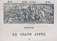 Commune de Paris 1871 Anarchiste Père Duchêne Issy les Moulineaux Panthéon