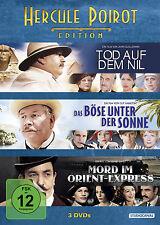 3 DVDs * HERCULE POIROT EDITION   SIR PETER USTINOV # NEU OVP /