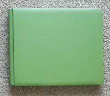 CREATIVE MEMORIES 12x10 GREEN LANDSCAPE ALBUM WITH PAGES BNOP