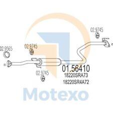 MTS 01.56410 Exhaust HONDA Civic 1.6i 16V 125bhp 01/92 - 12/95